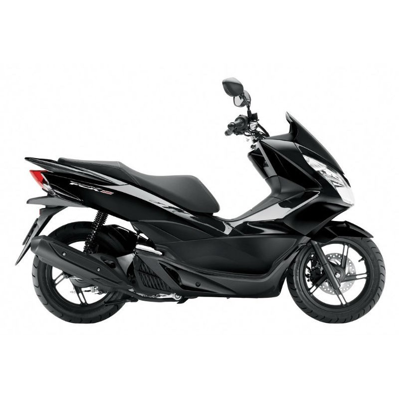 set body fairing black honda pcx 125 150 v3 2014 2015 2016 original. Black Bedroom Furniture Sets. Home Design Ideas