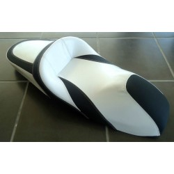 Seat NOI White and Black Honda PCX 125/150 v3 (2014-2015-2016-2017)