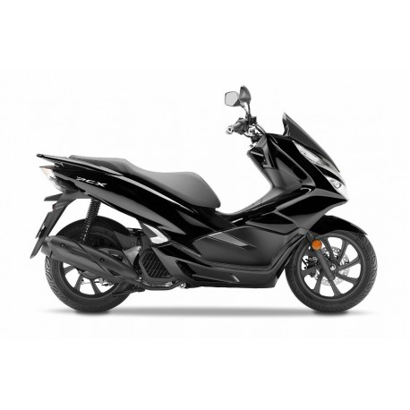 Set Body Fairing Black Honda PCX 125/150 v4 2018 2019