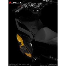 Foot Plates with Extra Protection Bikers Honda PCX 125/150 v4 2018 2019 2020