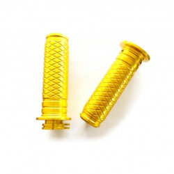 Aluminium Grips Gold Bikers...