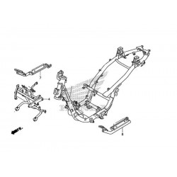 Stay Left Floor Honda PCX 125/150 v2 (2012-2013) 50621-KWN-710
