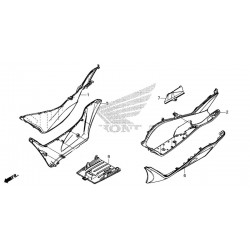 Step Left Floor Honda PCX 125/150 v3 (2014-2015-2016-2017) 64321-K35-V00