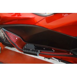 Foot Plates with Extra Protection Bikers Honda PCX 125/150 v3 (2014-2015-2016-2017)