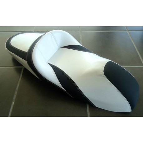 Seat NOI White and Black Honda PCX 125/150 v1 v2