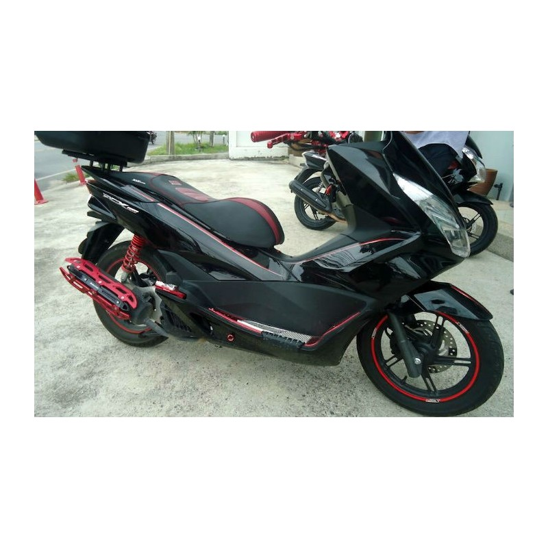 Kit Stickers Black Edition Honda Pcx 125 150 V2