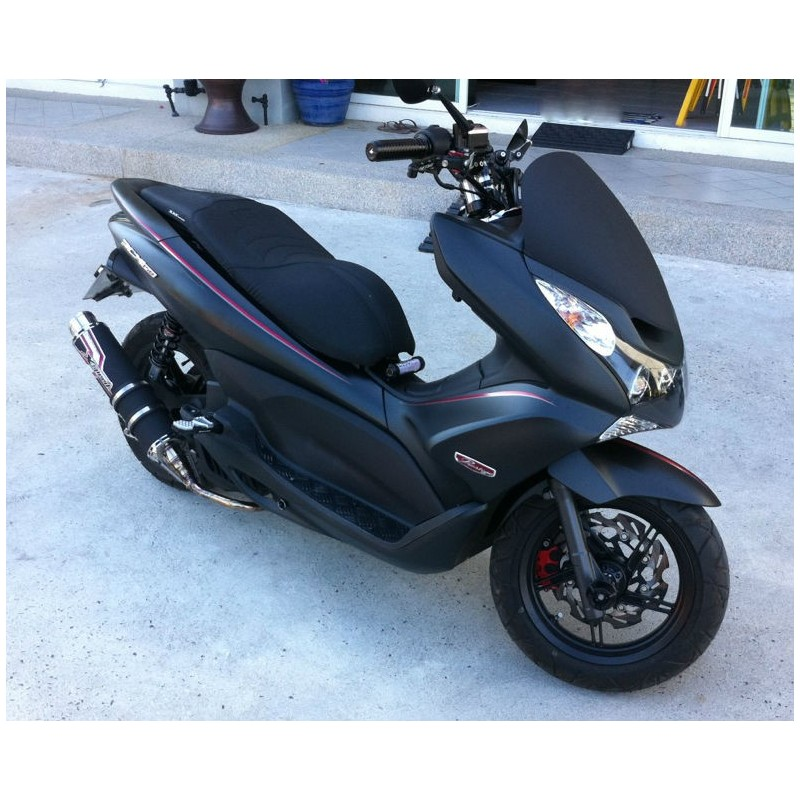 Set Stickers Black Edition Honda Pcx 125 150 V2