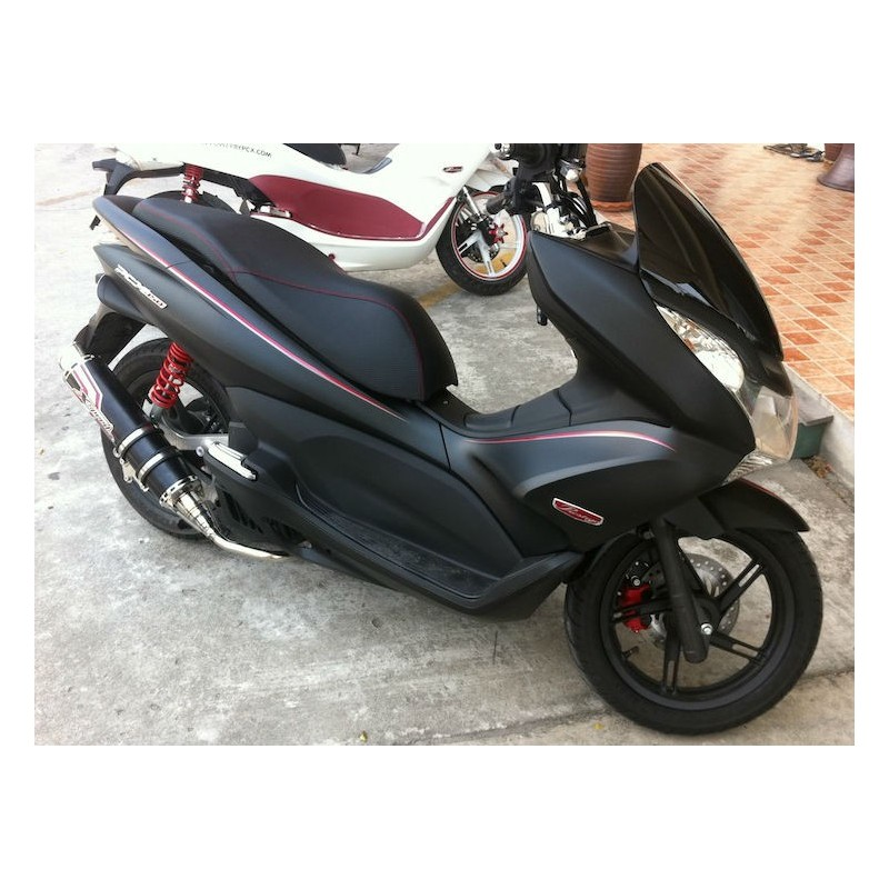 Set Body Fairing Matte Black Honda Pcx 125 150 V1 V2 2011
