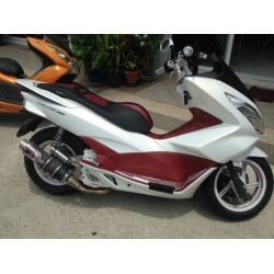 Set Body Fairing White Honda PCX 125/150 v3 (2014-2015-2016-2017)